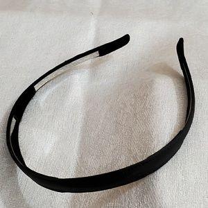 LOFT Black PU Leather Headband #637